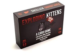 Exploding Kittens Card Game Party College Dorm Explicit Content NSFW Edition NEW #ExplodingKittensLLC