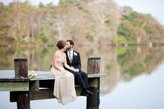 I can't thank Stacey Hedman enough for sending over this gorgeous garden wedding! Each picture is like a big breath of fresh air, and all the simple yet stunning touches couldn't be more perfect for this adorable duo. It looks so effortlessly Engagement Pictures, Wedding Pictures, Engagement Shots, Dock Wedding, Cape Cod Wedding, Wedding Blog, Wedding Ideas, Wedding Fun, Wedding Planner