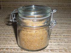 Sel aux épices Vinaigrette, Voici, Mason Jars, Cooking, Food, Conservation, Craft, Kitchen Stuff, Jar Recipes