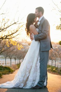 probably the most beautiful wedding dress i've ever seen...