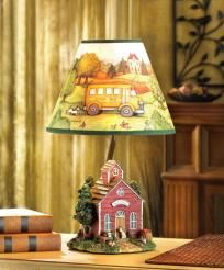 Susan Winget Schoolhouse Lamp-#14448