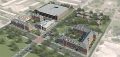 Coming Fall 2013 at #Baylor University: East Village Residential Community, home to 700 students (and a new dining hall).