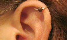 No Piercing Handmade Ear Cuff Helix Cuff by ArianrhodWolfchild, $10.00