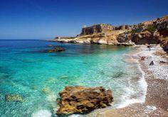 one of the many beaches in Mazara del Vallo, che bella!