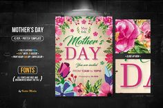 Mother's Day - Flyer/Poster by VectorMedia on @creativemarket