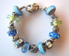 """Beautiful Beach"" Trollbeads Bracelet by Tartooful"