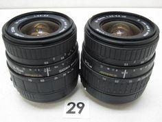 5L213FB SIGMA 24-70mm F3.5-5.6 レンズまとめて2本ジャンク_画像1