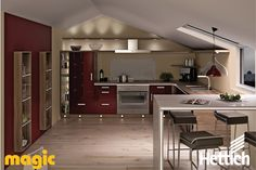 The Hettich Group is one of the world's leading manufacturers of furniture fittings. Led Light Design, Lighting Design, Aesthetic Value, Kitchen Lighting, Table, Design Ideas, Magic, Entertaining, Furniture