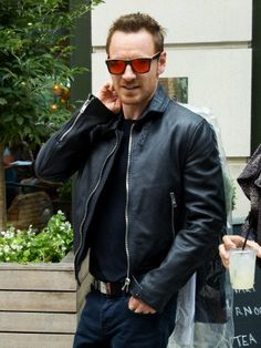 Michael Fassbender exiting the Crosby Street Hotel - August 7, 2014