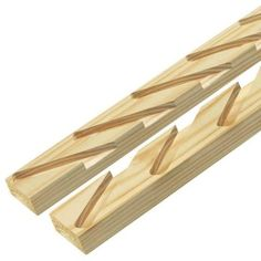 2 in. x 4 in. x 8 ft. #2 Prime Pressure-Treated Louver Kit-148862 - The Home Depot