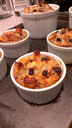 Flaming Bourbon {Pecan} Bread Pudding recipe