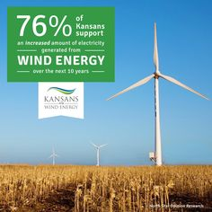 Support for renewable energy in Kansas continues to overwhelm!