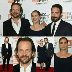 #NataliePortman in #Dior on the red carpet alongside #PeterSarsgaard and director #PabloLarrain at the premiere of film #Jackie during the #NYFF earlier today. (📸 Getty) • • • • • • • • • • • • • • • • • • • • • • • • • • • • • •  #NataliePortman de #Dior no red carpet, ao lado de Peter Sarsgaard e o diretor #PabloLarrain na premiere do filme #Jackie durante o #NYFF hoje cedo. (📸 Getty)