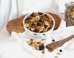 """Before you read this post, I should caution you: Homemade Granola doesn't taste like the box or the bag! It's simply addictive. Give someone you love a piece of rope, and ask them to """"watch you like a hawk!"""" If they notice that your arm swings forward each time you walk by a bowl of this…"""