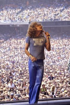 That's right Robert Plant knows- nurses do it better!