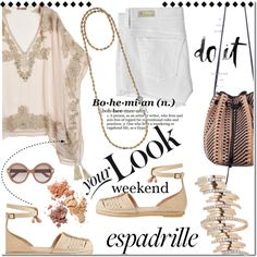 Weekend Look: Espadrilles by paculi How To Have Style, My Style, Short Outfits, Summer Outfits, Music Festival Fashion, Festival Style, Fringe Sandals, Beautiful Outfits, Polyvore Fashion