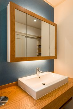 Woodworking Projects Diy, Wood Projects, Ed Wood, Washroom, Laundry Room, Mirror, Interior, House, Design