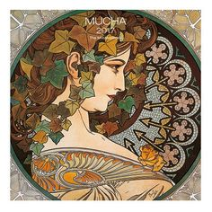 Mucha 2017 Wall Calendar - Detroit Institute of Arts Museum Shop