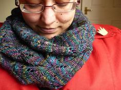 This is a lovely lace snood great for spring and autumn when the weather can be very unpredictable. Like an infinity scarf, Spring into Darkness is a seamless loop, and the lace pattern of stylised blossoms and leaves is bordered by a garter stitch edging to prevent curling. The snood is knitted flat and is then grafted to close into a loop. You can make a wider snood simply by increasing the cast on in 16 stitch intervals.Required skills: Provisional cast on Increases and decreases…
