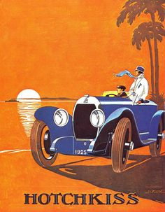 1925 Hotchkiss advertising