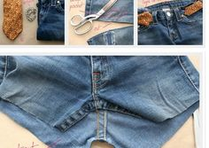 D.I.Y. – Make a Bag from Old Jeans