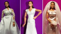 Creepy...extremely buff Kate and Pippa action figures