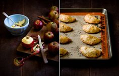 cheddar + apple hand pies