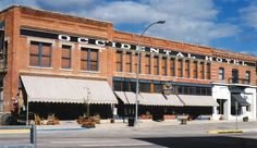 Stay or just visit the historic hotels near Yellowstone including Old Faithful Inn, Occidental Hotel, Irma Hotel, The Elephant Head Lodge & the Lake Hotel