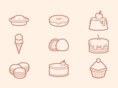 A small but very sweet icon set:)  Download here  Feel free to share if you like.  Website   Twitter   Facebook