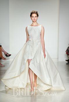 Brides.com: Anne Barge - Fall 2015 Wedding dress by Anne BargePhoto: Thomas Iannaccone