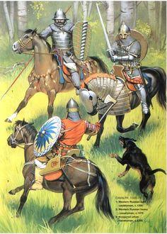 Russian Cavalry 14th Century
