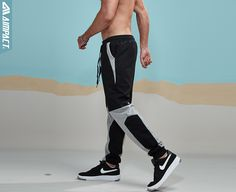 Aimpact Sweatpants Casual Sport Pants sporty activewear metrosexual fashion collocation lifestyle show