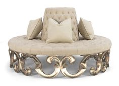 Discover all the information about the product Round sofa / classic / fabric / - Christopher Guy and find where you can buy it. Furniture Styles, Unique Furniture, Sofa Furniture, Luxury Furniture, Living Room Furniture, Furniture Design, Whimsical Bedroom, Sofa Design, Interior Design