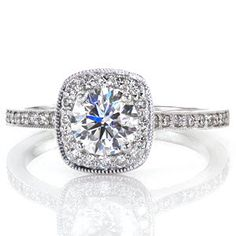 Amante - Knox Jewelers - Minneapolis Minnesota - Round Engagement Rings - Amante, Halo