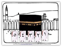 A Muslim Child is Born: Last Minute Hajj Story Board/Game