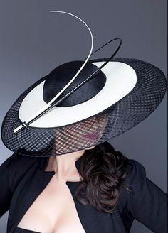 Guibert Millinery, Silver Screen Collection  This matches a blazer I have and with a black pencil skirt... YES!  I want it!