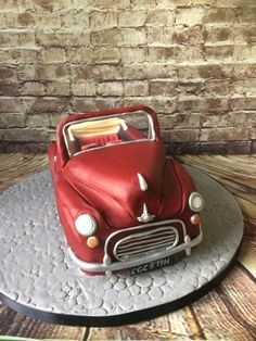 Morris minor cake by Mrs Macs Cakes