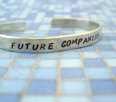 Doctor Who Inspired Bracelet  Future Companion  Hand by emerydrive, $16.00