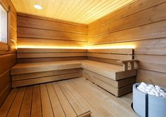 Tulikivi Naava saunaheater is made of soapstone. Electric Sauna Heater, Sauna Lights, Modern Saunas, Sauna Design, Finnish Sauna, Spa Rooms, Steam Room, Home And Living, House Plans