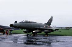 F-100: Royal Danish Air Force TF-100F GT-874 RAF Mildenhall | Flickr - Photo Sharing!