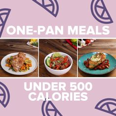 One-Pan Meals Under 500 Calories