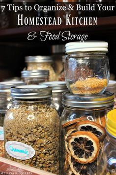 Organic Gardening Ideas 7 tips to organize and build your homestead kitchen and food storage. Homestead Farm, Homestead Survival, Homestead Living, Urban Survival, Wilderness Survival, Indoor Vegetable Gardening, Organic Gardening, Veggie Gardens, Gardening Hacks