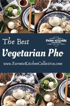 Struggling to enjoy meatless Monday with a busy family? Looking for health recipes that are nutritious and delicious? This vegetarian pho is rich, delicious and diet friendly. Keto compliant, vegan and Whole 30 compliant. For a copy of this recipe and several others, check out our FREE culinary & medicinal mushroom cookbook at www.FarmtoKitchenCollective.com. Free recipes, free herbal information and mushroom benefits all in ONE downloadable format.Get your copy today! Mushroom Benefits, Pho Recipe, Vegetarian Meal Prep, Health Recipes, Mushroom Recipes, Meatless Monday, Meals For The Week, Free Food, Free Recipes