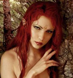 Elves Faeries Gnomes: Red Elf.