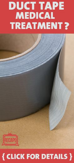 They say that duct tape can fix anything... But you'll never guess what medical purposes it has. Dr Oz says its the best remedy for...