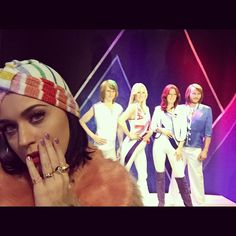 Katy Perry wearing Missoni Summer 2015 Turban