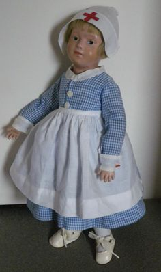 Schoenhut Character Girl Nurse doll