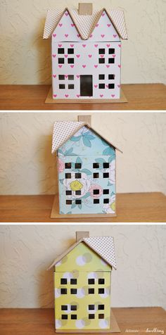Delineate Your Dwelling: Scrapbook Paper Doll House