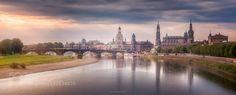 Good Morning Dresden! - Pinned by Mak Khalaf Dresden Germany City and Architecture architecturebridgecitycloudsdresdengermanygreenmorningreflectionriverskysunsunrisesunsettraveltreeswater by Yu_Kodama