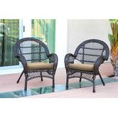 Found it at Wayfair - Wicker Chair with Cushions